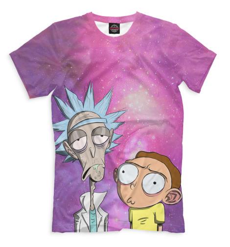 Купить Мужская футболка Рик и Морти RNM-527122-fut-2