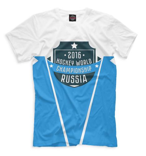 Мужская футболка Россия 2016