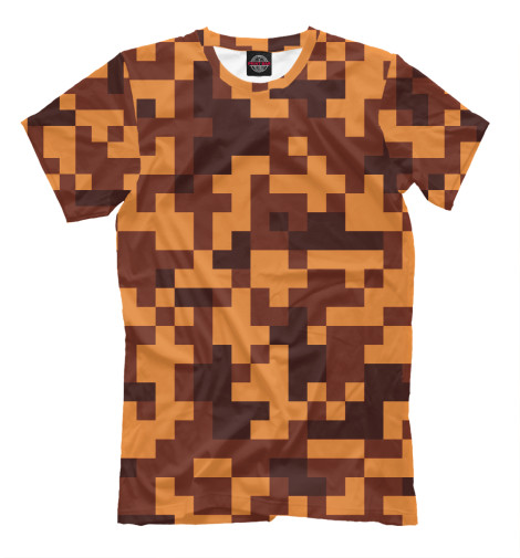 Футболка Print Bar Brown camouflage футболка toy machine leopard brown