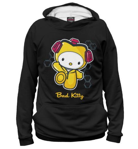 Худи Print Bar Bad Kitty майка классическая printio во все тяжкие braiking bad ч б