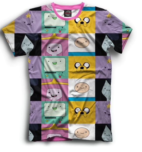 Купить Мужская футболка Adventure Time ADV-895138-fut-2