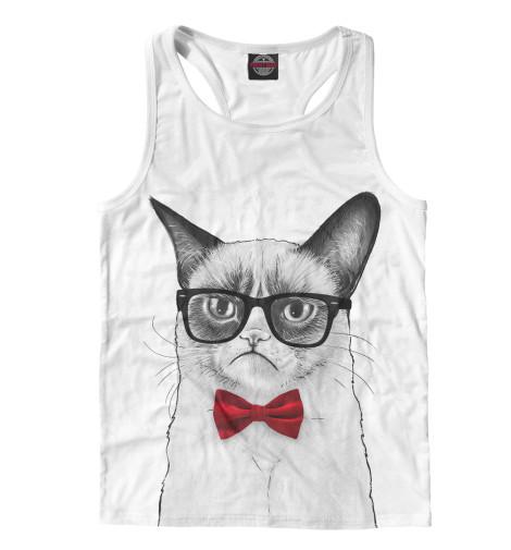 Купить Мужская майка-борцовка Суровый кот HIP-770265-mayb-2