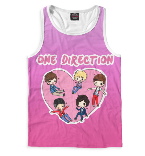 Майка борцовка Print Bar One Direction худи print bar one direction