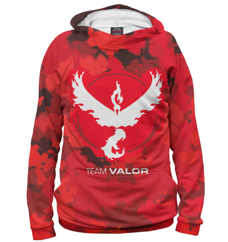Худи Print Bar Team Valor футболка print bar valor pokemon team
