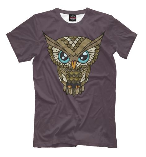 Футболка Print Bar Сова OWL футболка wearcraft premium printio сова сова