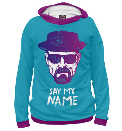 Худи Print Bar Say my Name my name is leon