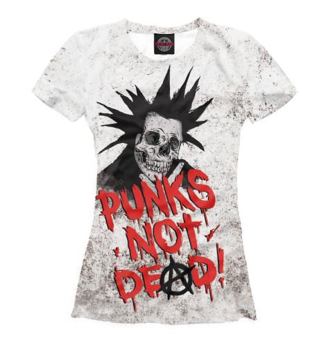 Футболка Print Bar Punks not Dead! original monstr high love s not dead ghoulia yelps