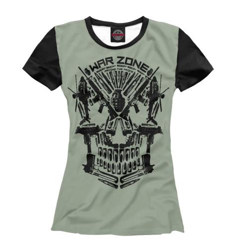 Футболка Print Bar War zone футболка print bar gears of war 4