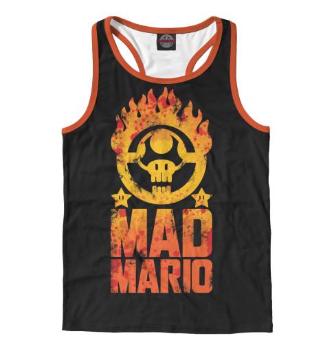 Майка борцовка Print Bar Mad Mario майка борцовка print bar mad dog