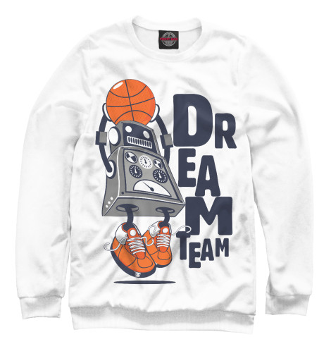 Свитшот Print Bar Dream team все цены