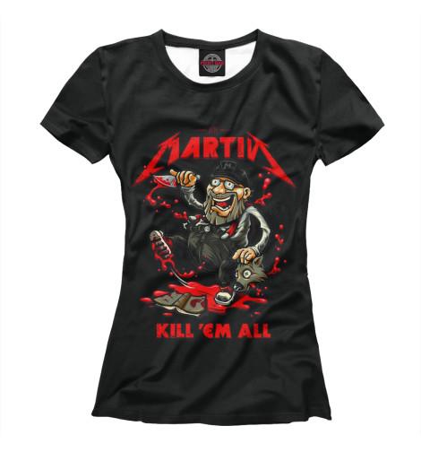 Купить Футболка для девочек Martin IGR-815672-fut-1