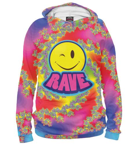 Худи Print Bar Happy Rave футболка print bar happy rave