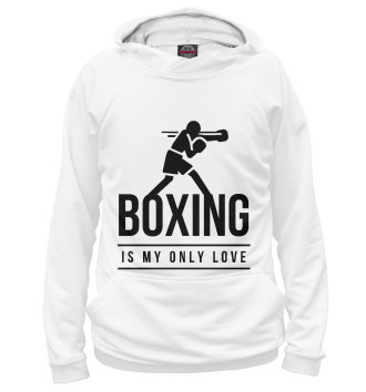 Женское Худи Boxing is my life