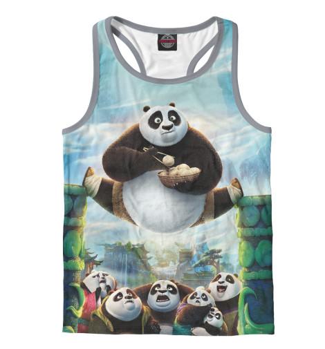 Майка борцовка Print Bar Кунг-Фу Панда unice кунг фу панда