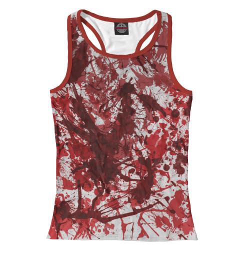 Майка борцовка Print Bar Кровь тамоников а кровь за кровь