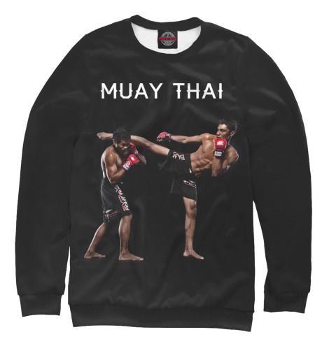 Свитшот Print Bar Муай Тай китайская школа боевых искусств самозащита муай тай