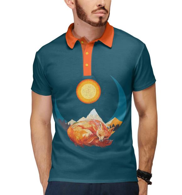 Поло для мальчика Лунная лиса FOX-952677-pol-2  - купить со скидкой