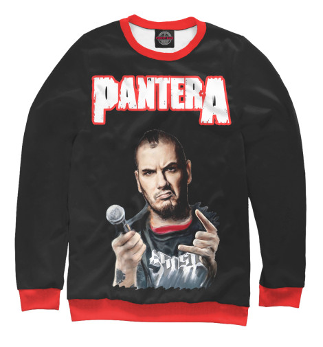 Свитшот Print Bar Pantera Phil Anselmo футболка print bar pantera mouth for war