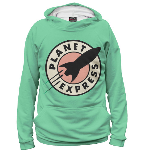 Худи Print Bar Planet Express футболка print bar planet express