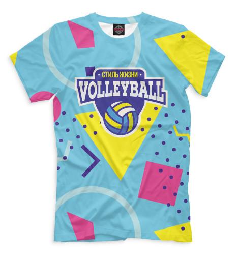Футболка Print Bar Волейбол — стиль жизни футболка print bar спасаю жизни