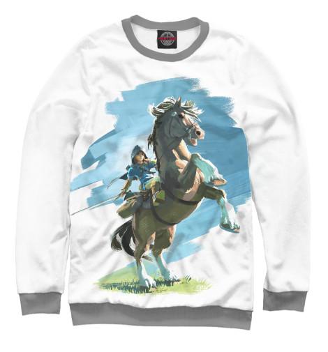 Свитшот Print Bar The Legend of Zelda Horses the legend of jig dragonslayer
