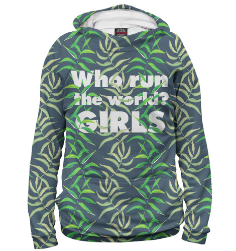 Худи Print Bar Who Runs the Wolrd? - GIRLS худи print bar who runs the wolrd girls