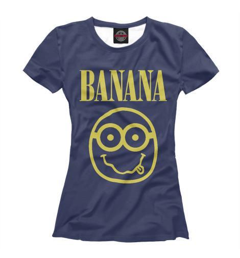 Футболка Print Bar Banana Nerd nerd do well