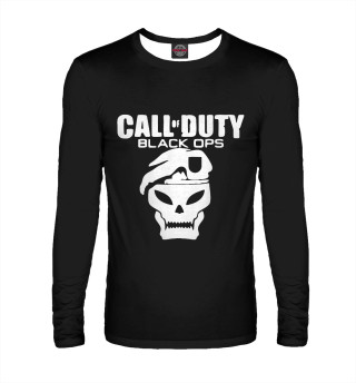 Мужской лонгслив Call of Duty Black Ops