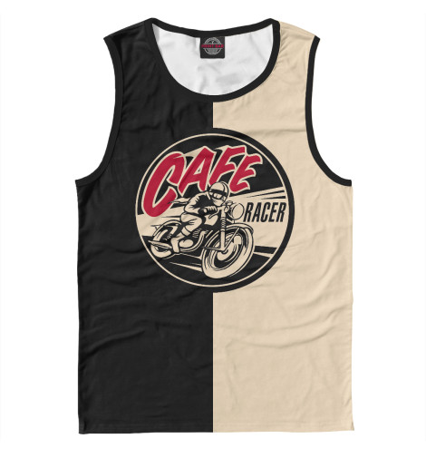 Майка Print Bar Cafe Racer bar bq cafe