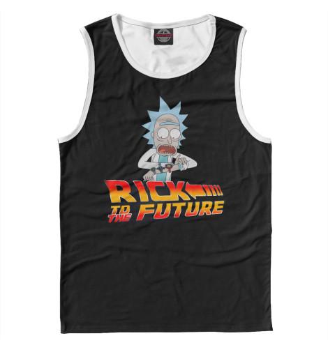 Майка Print Bar Rick To The Future