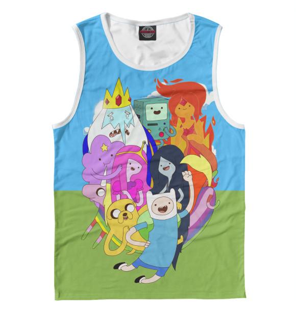 Мужская майка Adventure Time ADV-173403-may-2  - купить со скидкой