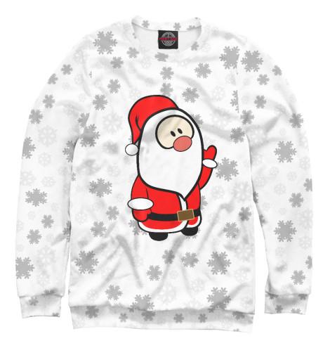 Свитшот Print Bar Дедушка мороз владимир дэс это дедушка мороз – красный нос
