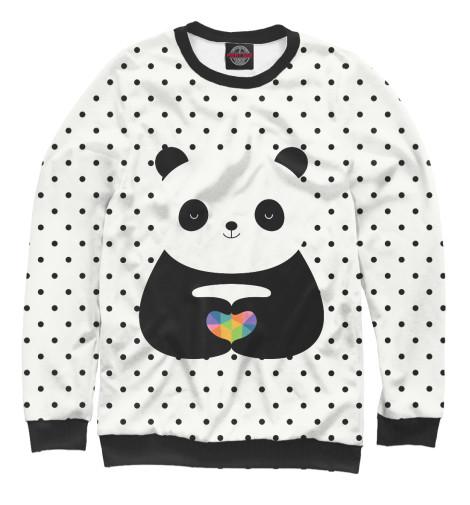 Свитшот Print Bar Любовь панды майка борцовка print bar любовь панды