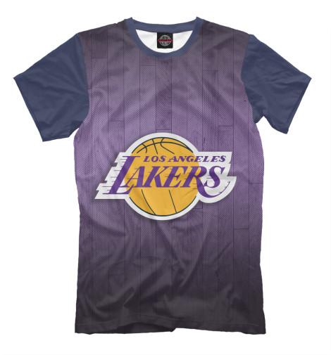 Футболка Print Bar Los Angeles Lakers баскетбольную форму lakers