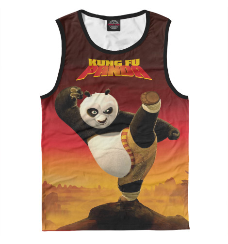 Майка Print Bar Kung Fu Panda сумка printio kung fu panda