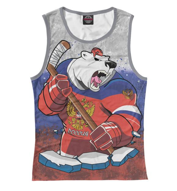 Купить Майка для девочки Медведь HOK-184460-may-1