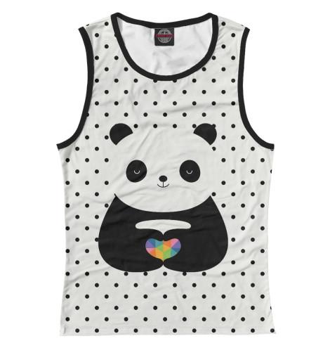 Майка Print Bar Любовь панды майка борцовка print bar любовь панды
