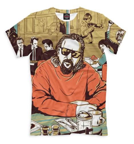Мужская футболка Большой Лебовский