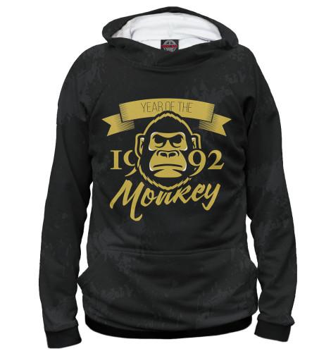 Худи Print Bar Год обезьяны — 1992 за сколько можно 50 копеек за 1992 год