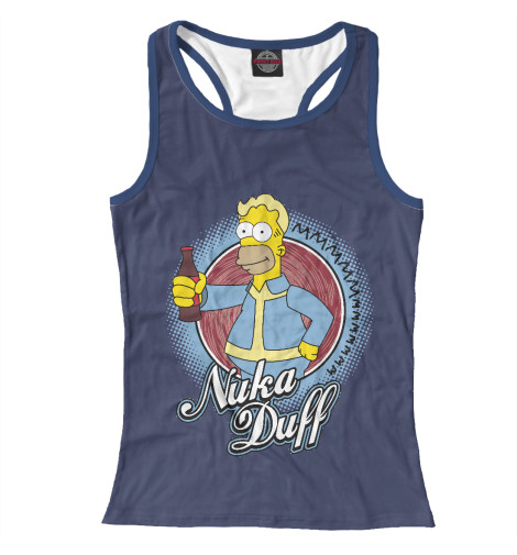 Купить Женская майка-борцовка Nuka Duff SIM-299918-mayb-1