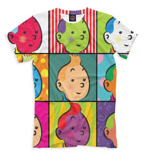 Мужская футболка Тинтин