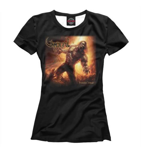 Футболка Print Bar Unmerciful - death metal band футболка print bar black metal ist krieg