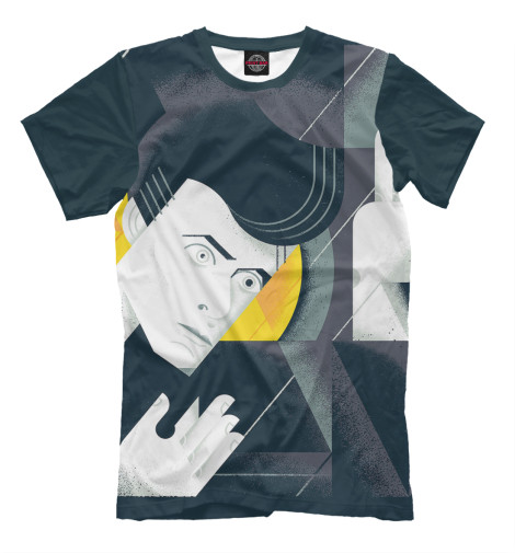 Футболка Print Bar David Bowie цена и фото