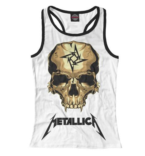 Майка борцовка Print Bar Metallica Skull майка классическая printio i love metallica