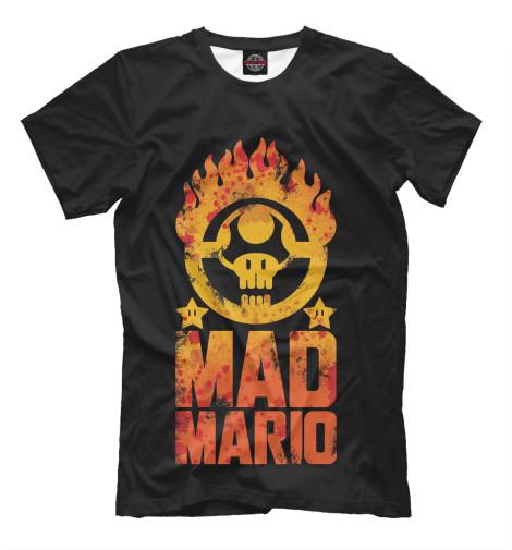 Футболка Print Bar Mad Mario цена