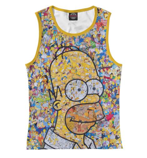 Майка Print Bar Simpsons