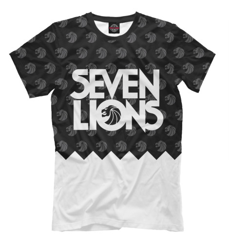 Футболка Print Bar Seven Lions футболка print bar king of the lions
