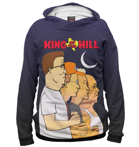 Худи Print Bar King of the Hill футболка print bar king of the lions