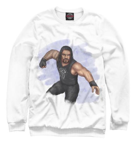 Свитшот Print Bar WWE: Роман Рейнс свитшот print bar wwe сет роллинс