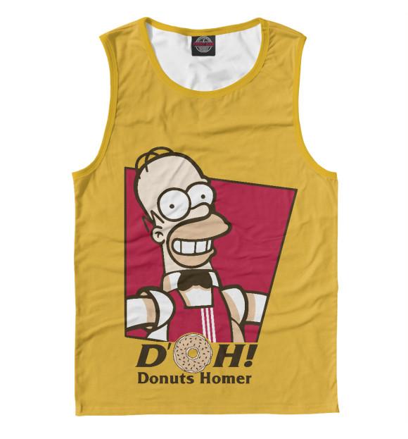 Купить Мужская майка Homer Donuts SIM-684228-may-2